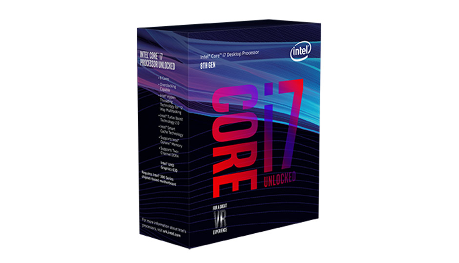 Chip core i7 8700 ( 3.2 Ghz upto 4.2 cache 12MB)