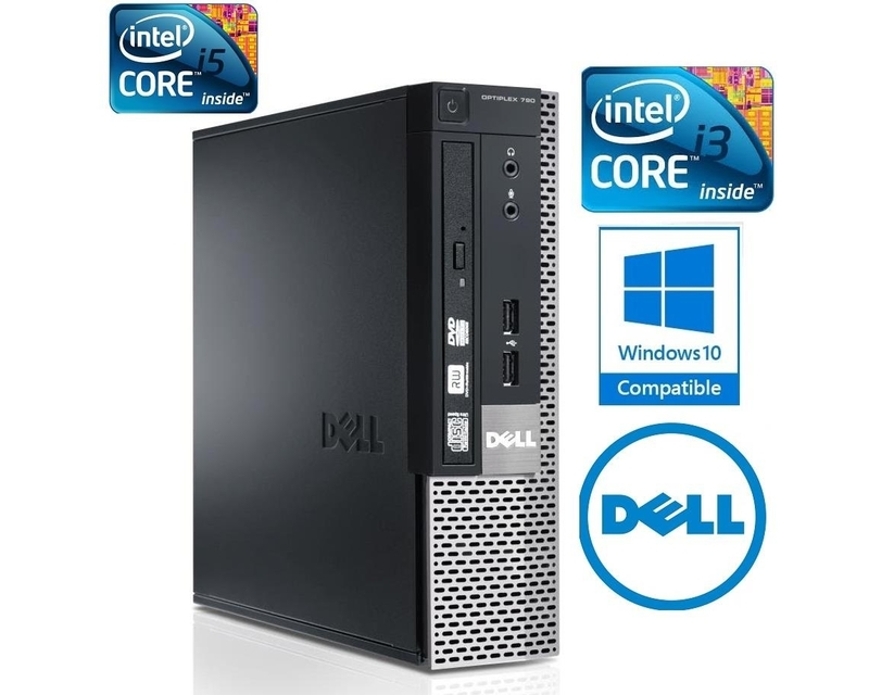 Case DELL core i3 790SFF- i3-2120 / R4G / HDD250G