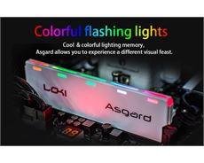 Ram ASGARD 8Gb DDR4 BUS 2400 LED RGB